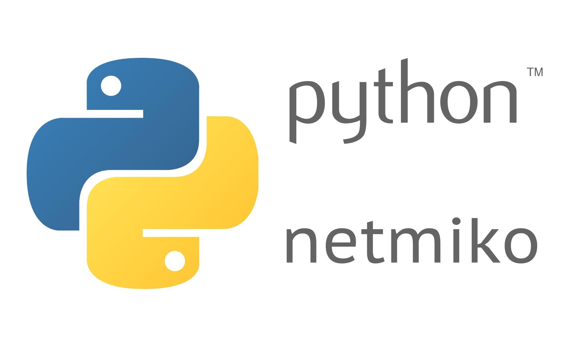 Python Netmiko