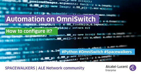 Automation on OmniSwitch