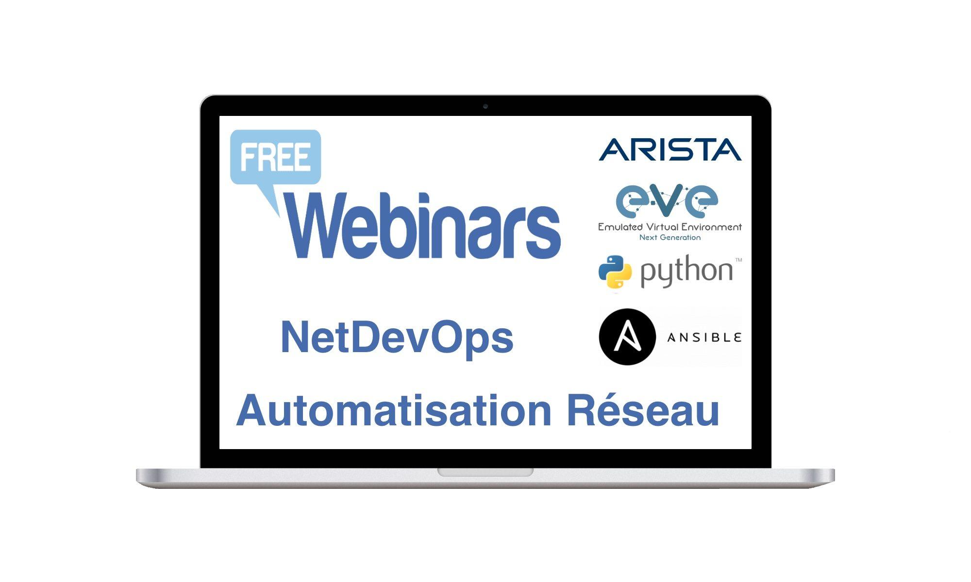 Webinar Automatisation Arista