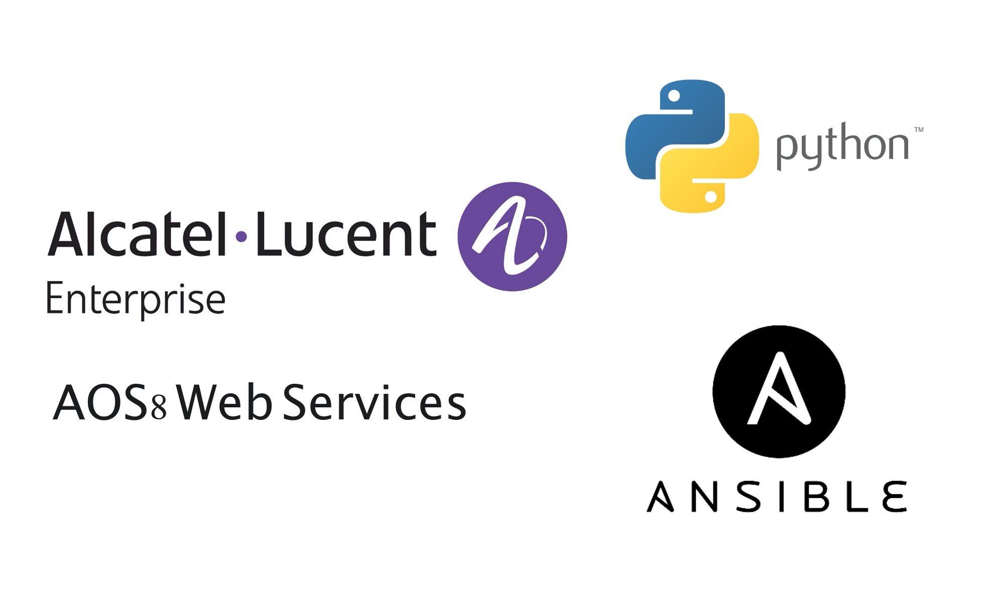 ALE AOS8 Web Services