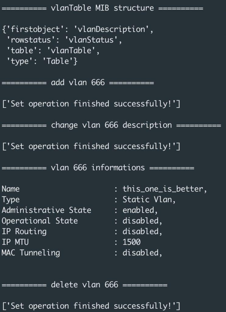 AOS Python REST