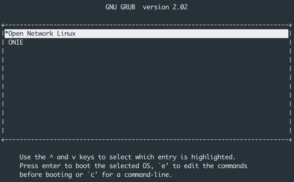 ONIE Open Network Linux