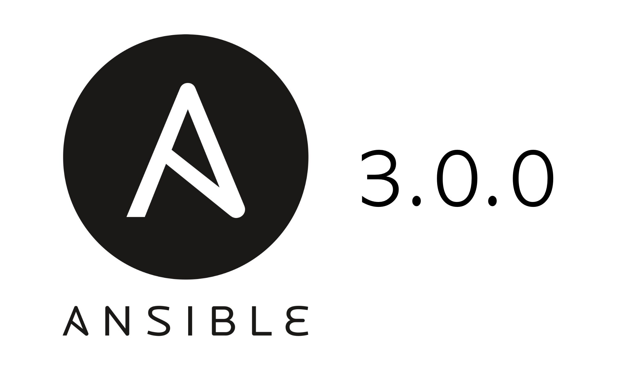 Ansible 3.0.0